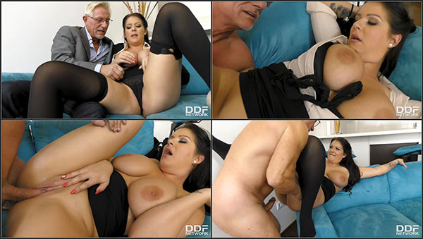[DDFBusty] Anissa Jolie – The Big Busty Surprise [720p HEVC x265]