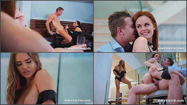 [Private] Ella Hughes, Jolee Love, Alessandra Jane - Party Time with Three Horny Stars [720p HEVC x265]
