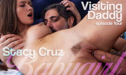 [Babygirl] Visiting Daddy - Ep. 4 - Daddy bangs me.. again - Stacy Cruz (Oculus/Go 4K) [2160p 60FPS]