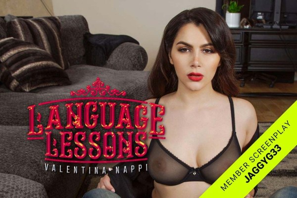 [BadoinkVR] Language Lessons Starring: Valentina Nappi (GearVR/DayDream) [1440p 60FPS]