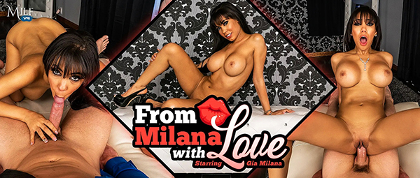 [MilfVR] From Milana with Love - Gia Milana (Smartphone) [1080p 60FPS]