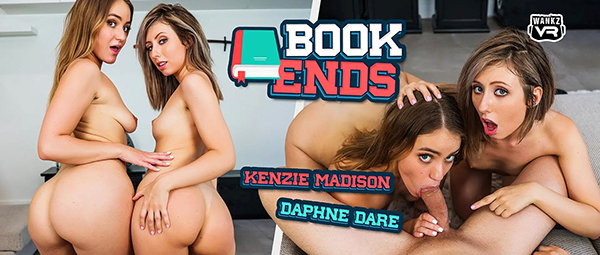 [WankzVR] Book Ends - Daphne Dare, Kenzie Madison (Smartphone) [1080p 60FPS]