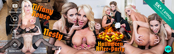 [CzechVR] 314 - Halloween After-Party - Nesty, Tiffany Rouso (Smartphone) [1080p 60FPS]