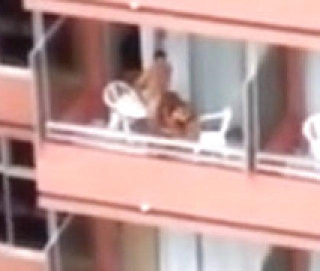 Hardcore Sex On The Balcony
