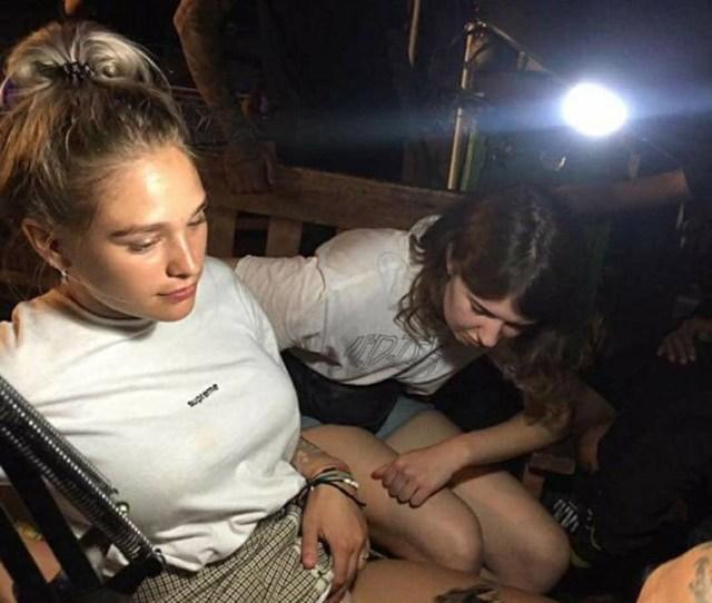 Teen Getting Pussy Tattoo