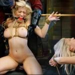 Cristi Ann sexual humiliation ||  HOSTEL XXX BDSM Boat ride To Bondage