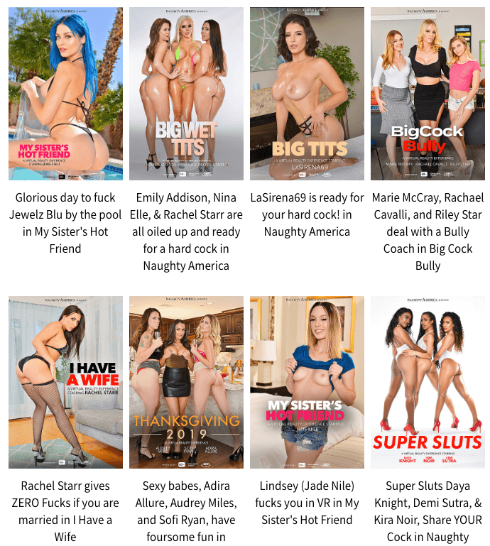 movie collection from naughty america vr