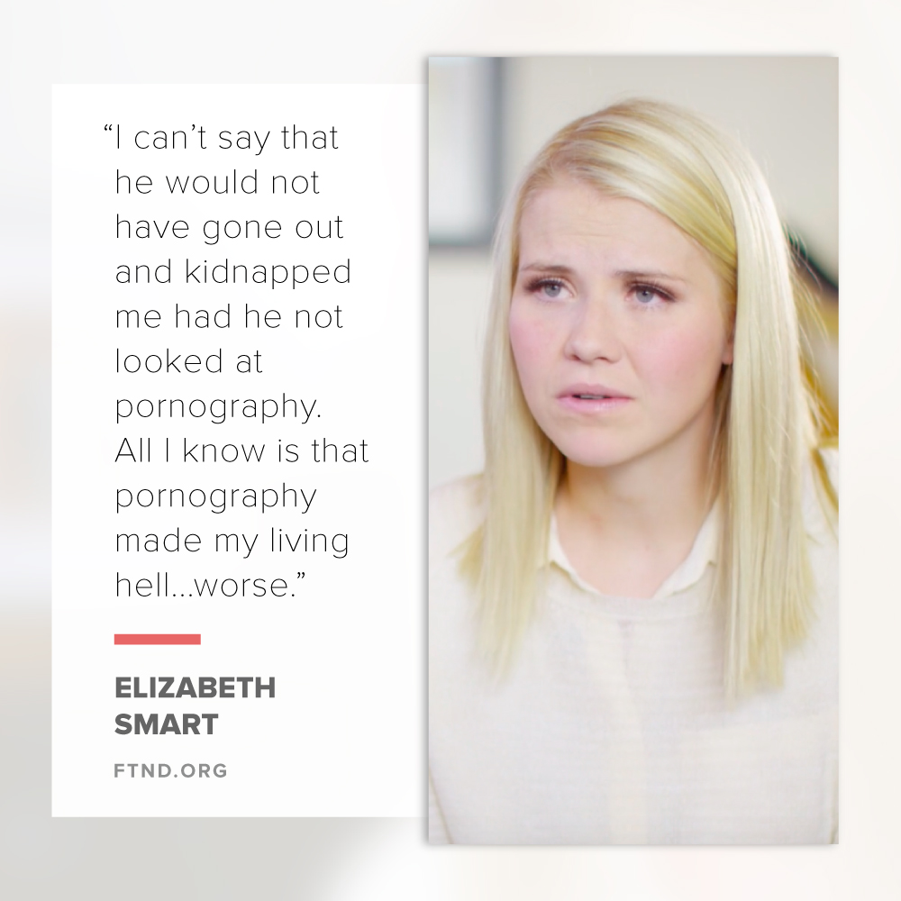 Elizabeth Smart Speaks about Porn's Role in Her Kidnapping: 'It Made My Living Hell Worse'