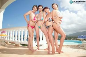 Bikini Team   Hitomi Tanaka, Valory Irene, Sha Rizel, Joana