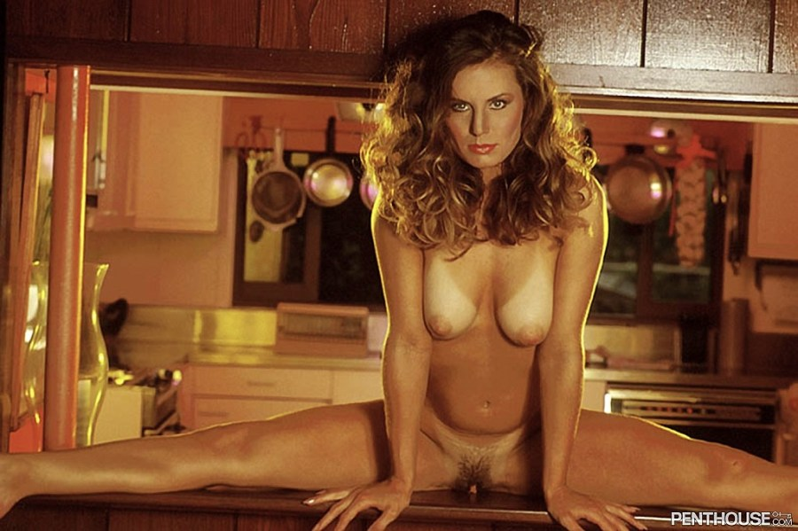 Chanel posing nude for the October 1992 issue of Penthouse