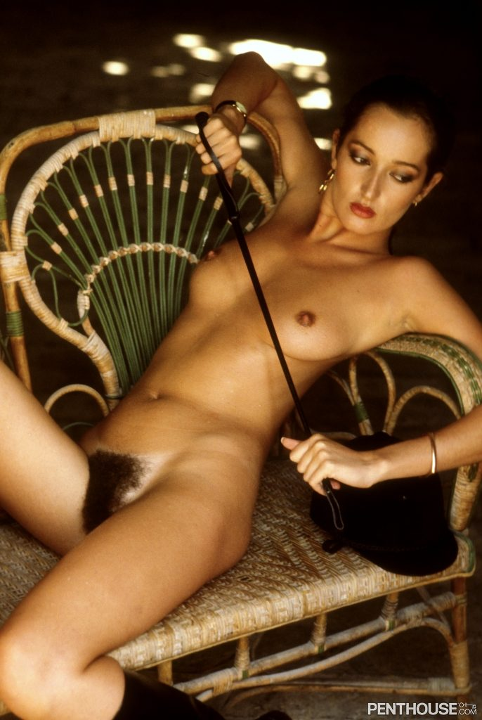 Isabella Ardigo posing nude for the April 1979 issue of Penthouse