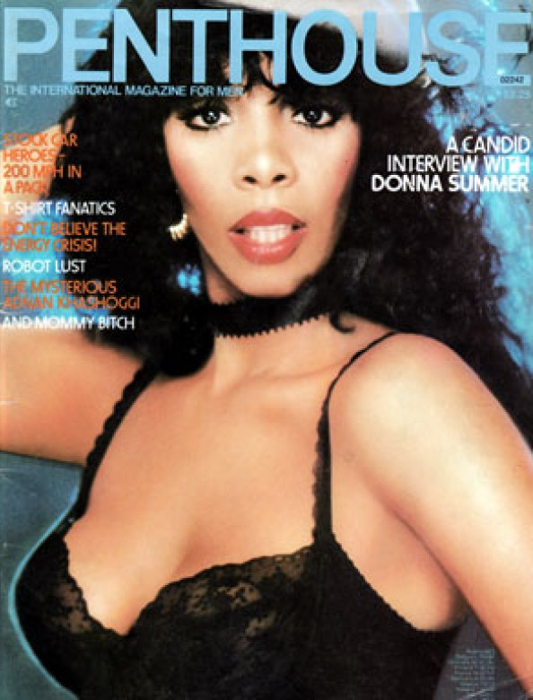 Jaycee West on the cover of Penthouse magazine July 1979