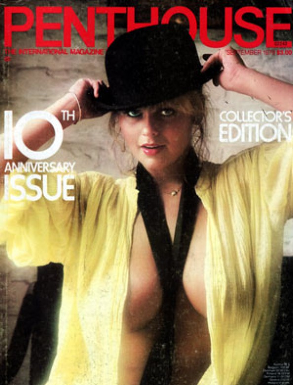 Joanne Latham on the cover of Penthouse magazine September 1979