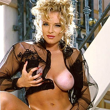 Lydia Schone Penthouse Pet of the month January 1995
