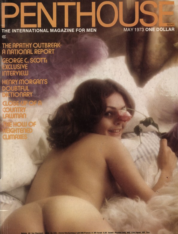 Sandi Greco on the cover of Penthouse magazine