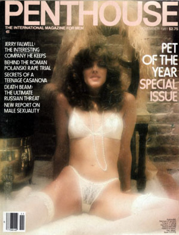 Terry Armstrong on the cover of Penthouse Magazine