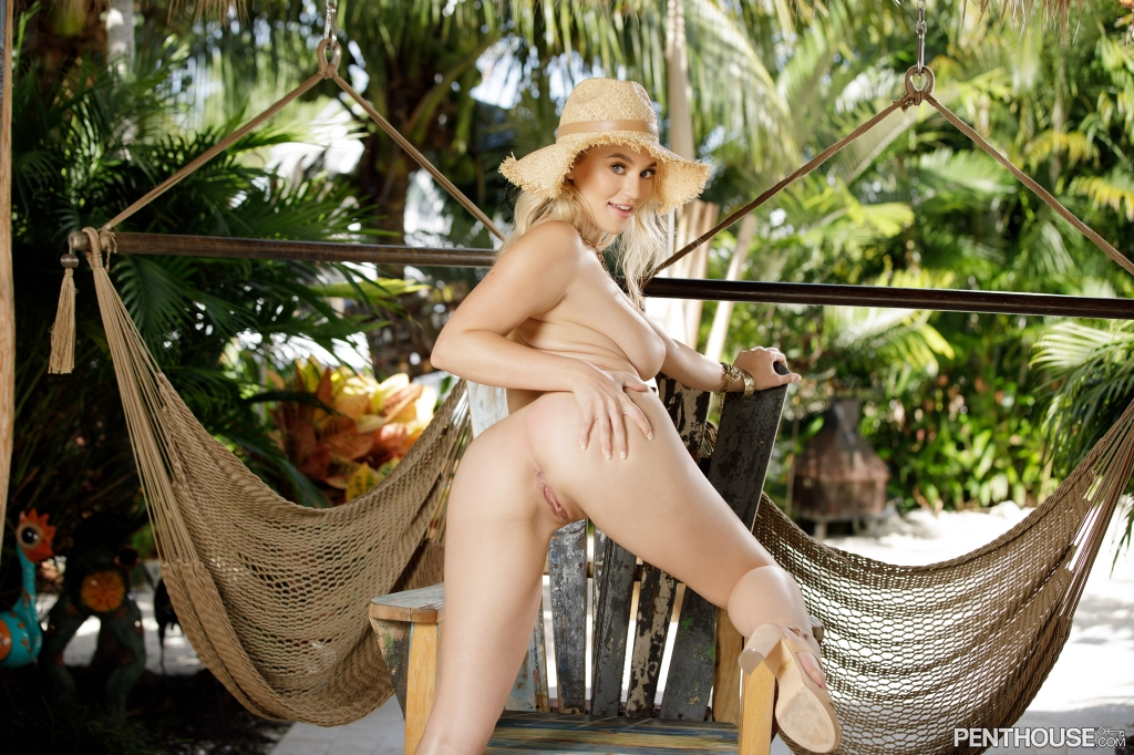 Blake Blossom nude in her December 2020 Penthouse Pet Of The Month photo spread 012