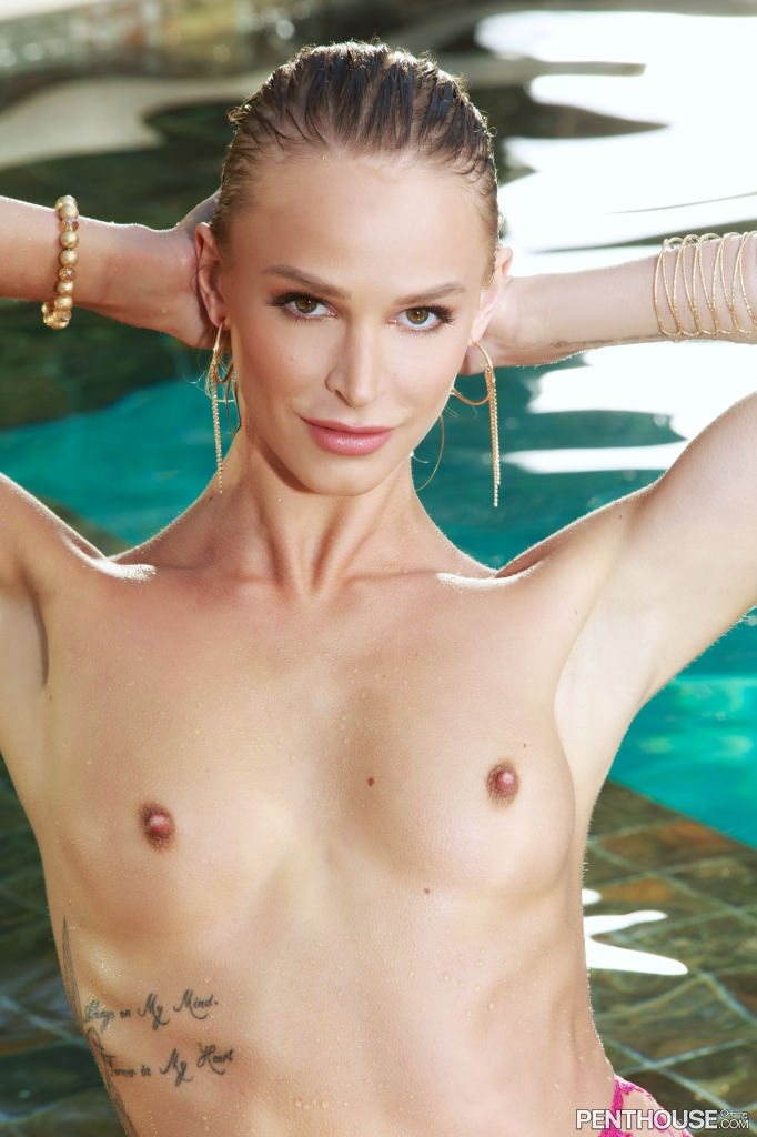 Emma Hix nude in her May 2020 Penthouse Pet Of The Month photo spread 007