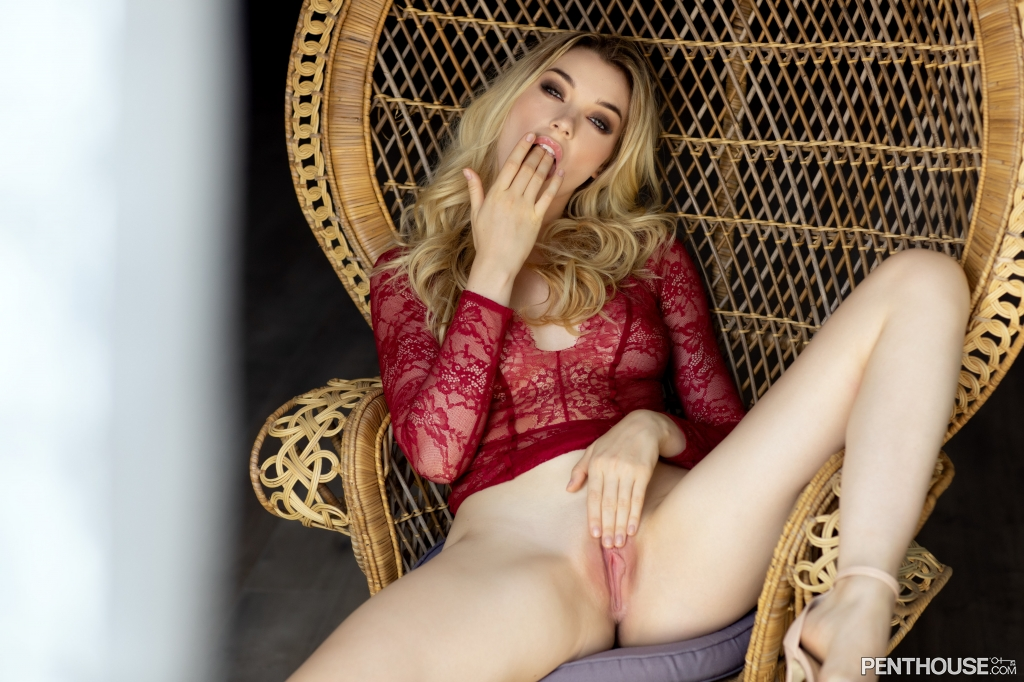 Anny Aurora nude in her December 2019 Penthouse Pet Of The Month photo spread 003
