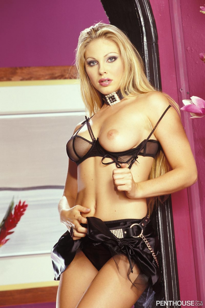 Jesse Capelli nude in her April 2004 Penthouse Pet Of The Month photo spread 009