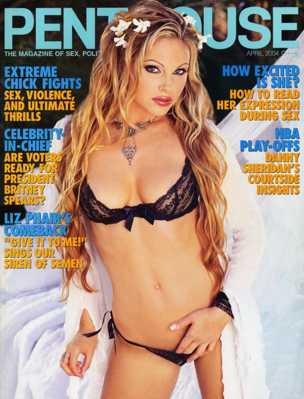 Jesse Capelli on the cover of Penthouse Magazine