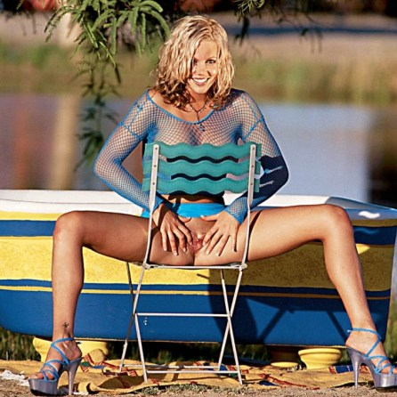 Montana Bay nude in her August 2004 Penthouse Pet Of The Month photo spread 011