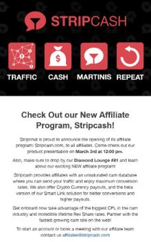 Make Money Being Webcam affiliate