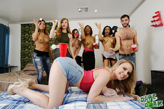 Aubrey Sinclair, Nina Nirvana, Ivy Wolfe, Quinn Quest, Nicole Rey (My Gf Likes To Party / 05.06.2017)