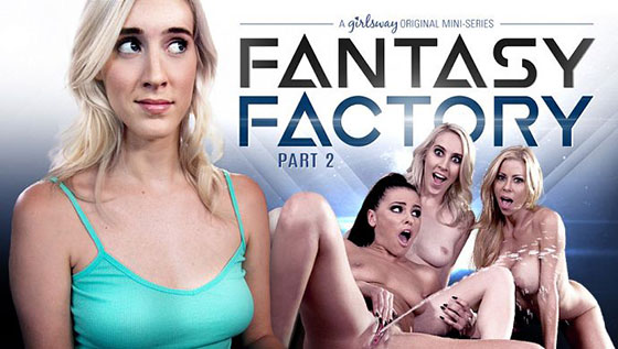 Adriana Chechik, Cadence Lux, Alexis Fawx (Fantasy Factory 2: Squirting Therapist / 03.23.2017)