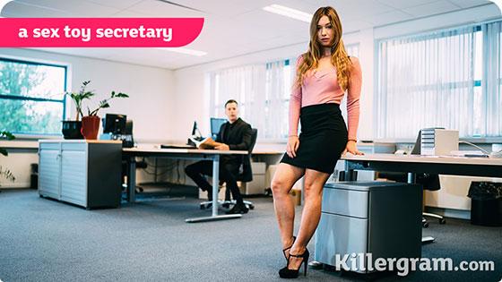 Taylor Sands (A Sex Toy Secretary / 04.01.2018)