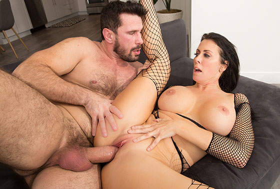 Dominatrix, Gets Paid To Be A Bitch To Her Clients. But Is A Submissive Slut For Manuel with Reagan Foxx