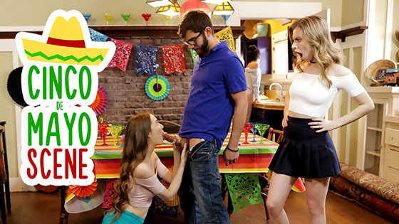 Cinco De Pie O with Samantha Hayes, Anya Olsen