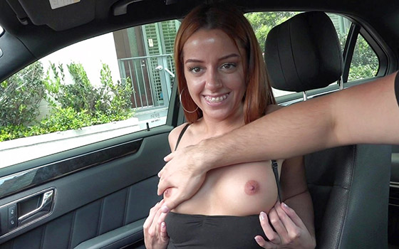 Gets Her First Taste Of West Coast Cock! with Vanna Bardot