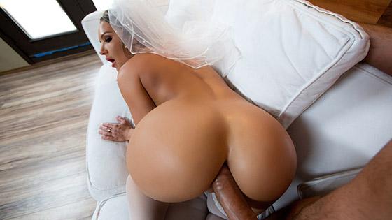 Big Wet Bridal Butt with Cali Carter