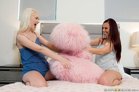 First Time With My BFF with Aidra Fox, Chloe Cherry