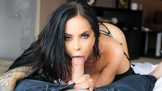 Brandy's Motivational Blowjob with Brandy Aniston