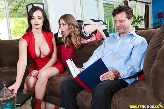 Stepmother Seduction with Anya Olsen, Lexi Luna