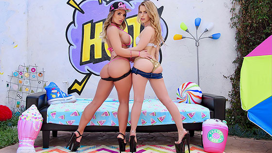 A Special Treat From Cali And Lilly with Cali Carter, Lilly Ford