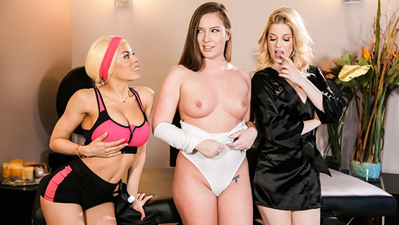 Two Is Better Than One with Maddy O'Reilly, Charlotte Stokely, Luna Star