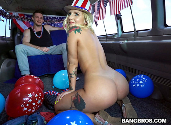 4th of July Celebration on The Bus with Stella Raee