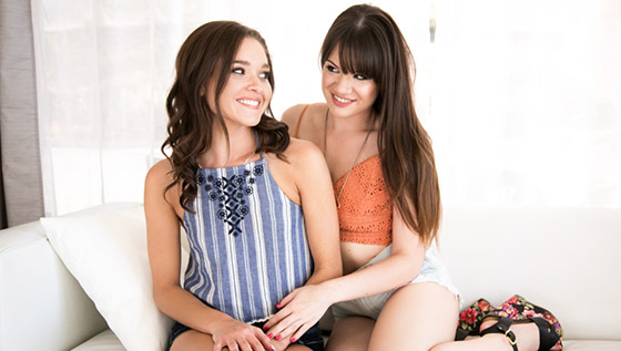 Cousin Cums To Visit with Alison Rey, Zoe Bloom