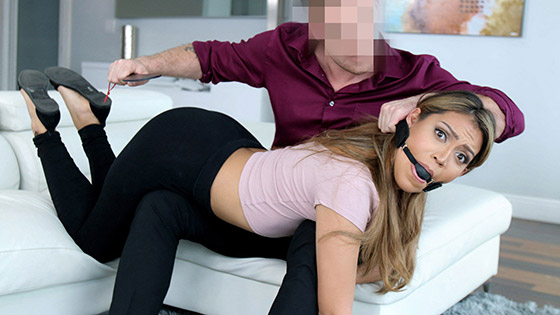 Master Lets Loose On Docile Servant with Nicole Rey