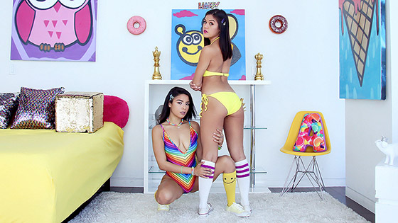 Threesome Fantasy with Kendra Spade, Maya Bijou
