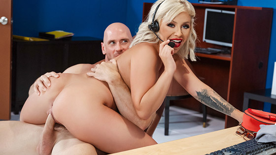 Call Center Cock with Madelyn Monroe