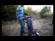 Eduardo dando pra dois no mato caiu na net.