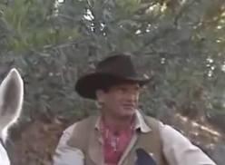 Cowboy metendo no meu rabo.