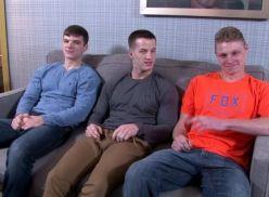 Gays fazendo menagem.