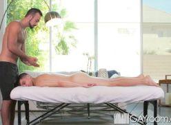 Maravilhoso sexo depois da massagem