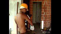 Gays brasileiros transando na construção