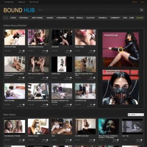 BoundHub - Best Fetish Porn Sites